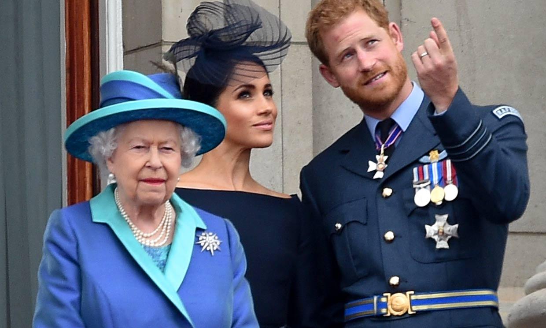 Isabel II se muestra 'encantada' tras el nacimiento de la hija del príncipe Harry y Meghan Markle