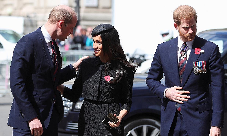 La cercana felicitación de los duques de Cambridge a Harry y Meghan por el nacimiento de su hija