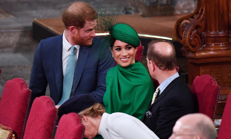 El príncipe Eduardo considera 'muy triste' la situación de Meghan y Harry