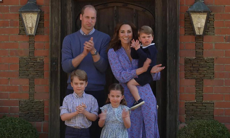 La simpática petición de los príncipes George, Charlotte y Louis a su madre, la duquesa de Cambridge