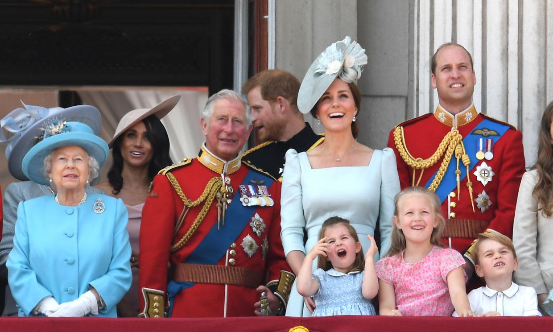Este sábado se celebra el 'Trooping the Colour', el desfile que reúne cada año a la Familia Real británica