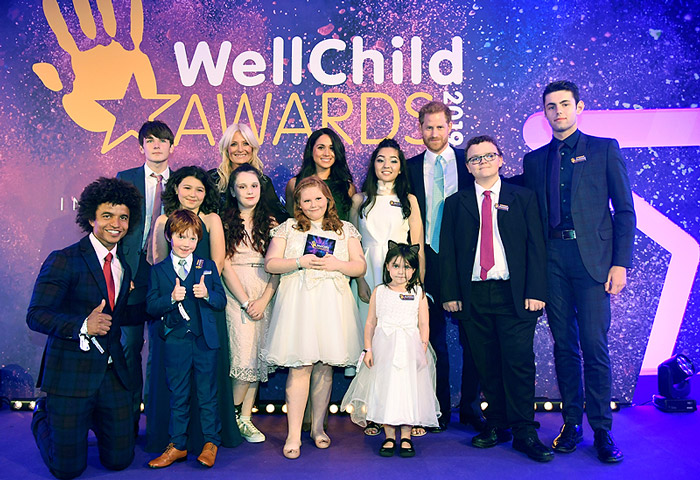 Harry and Meghan at the Wellchild Awards