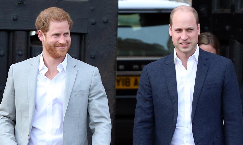 Los príncipes Guillermo y Harry, ¿rebajan tensiones gracias al fútbol?
