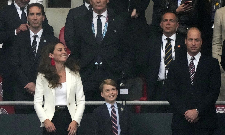 De la alegría a la tristeza: así vivió George la emocionante final de la Eurocopa