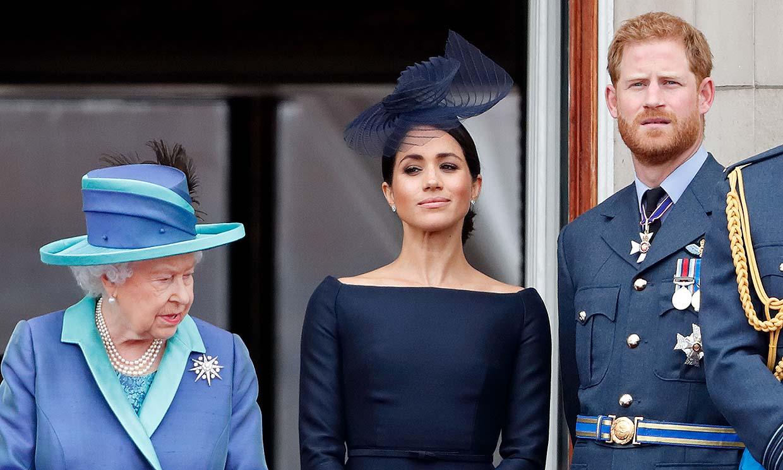 Los duques de Sussex, decepcionados con la postura de Isabel II tras la entrevista con Oprah Winfrey