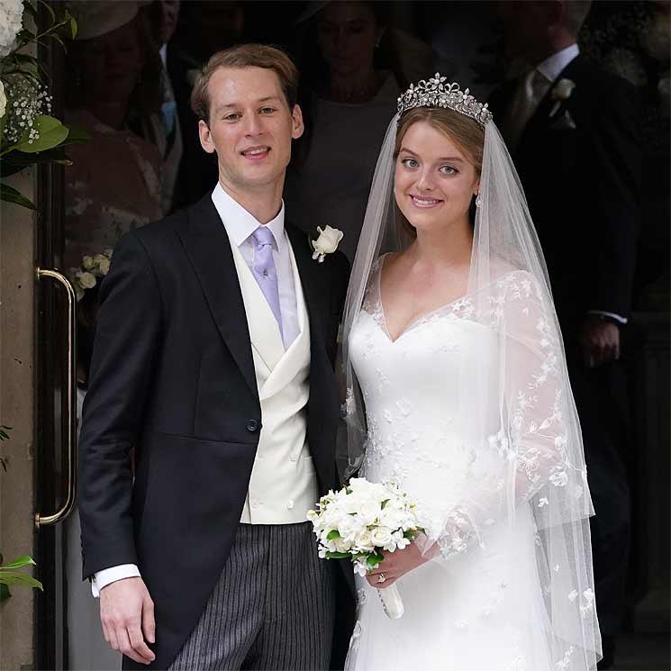 Flora Ogilvy, sobrina de Isabel II, celebra una nueva 'boda' con Timothy Vesterberg