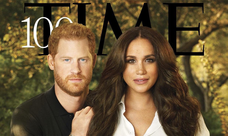 Harry y Meghan, portada de 'Time' que los incluye entre los más influyentes de 2021