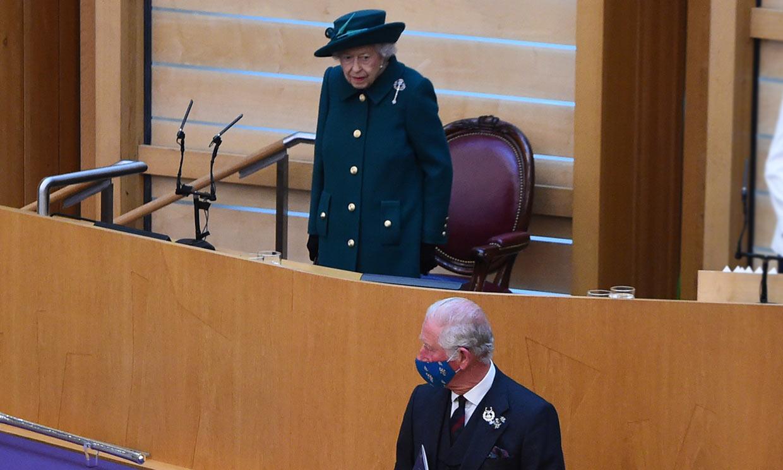 Isabel II habla por primera vez del duque de Edimburgo seis meses después de su muerte