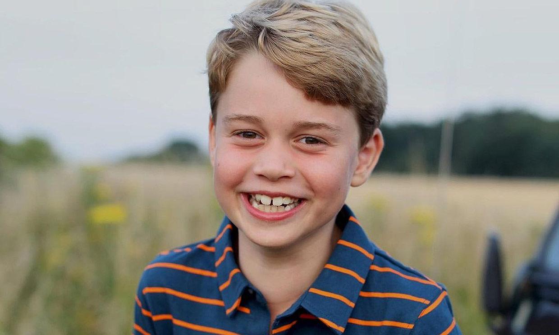 George, el orgullo de su abuelo, el príncipe Carlos, por seguir sus pasos en defensa del medio ambiente