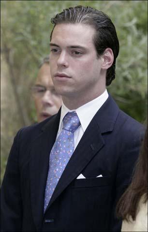 El príncipe Luis de Luxemburgo y su esposa, Tessy Anthony, esperan su segundo hijo
