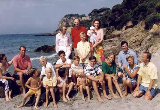 La Familia Ducal de Luxemburgo, de vacaciones en la Costa Azul