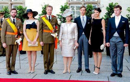 La Familia Ducal de Luxemburgo preside la celebración de la Fiesta Nacional