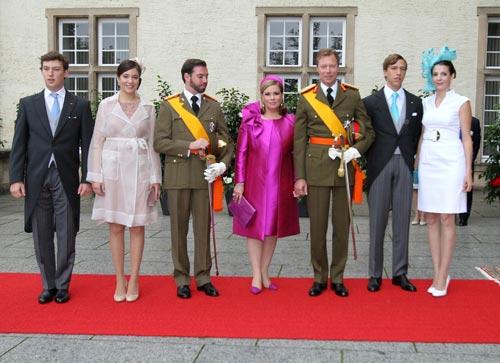 Los hijos de los grandes duques, el centro de todas las miradas en las celebraciones del Día Nacional de Luxemburgo