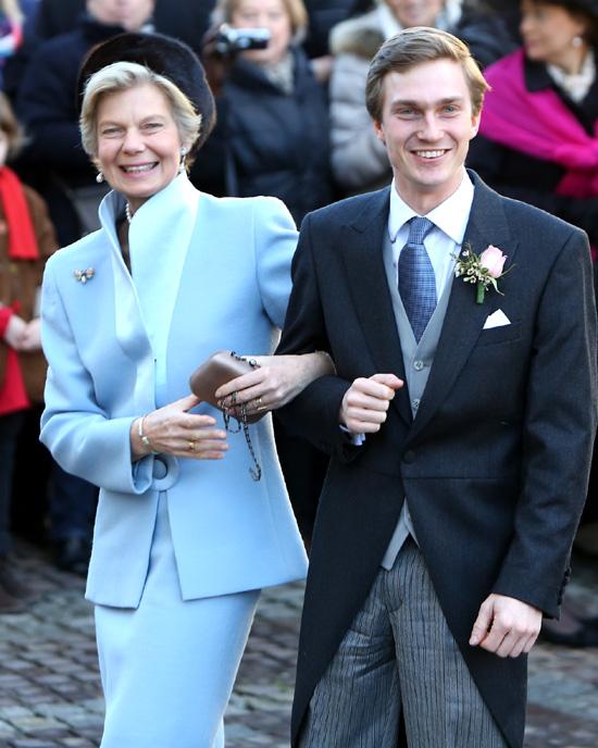 La Familia Ducal de Luxemburgo se reúne de nuevo en una boda real