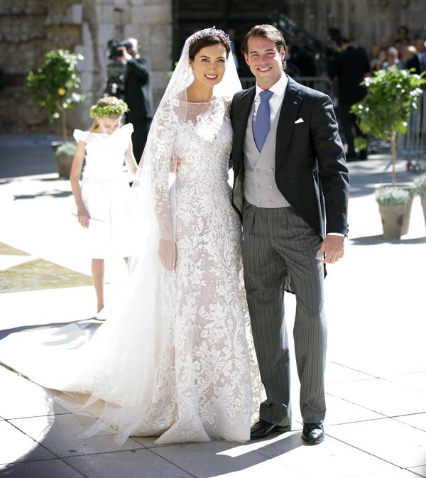 La romántica boda de los príncipes Félix y Claire de Luxemburgo en la Provenza francesa