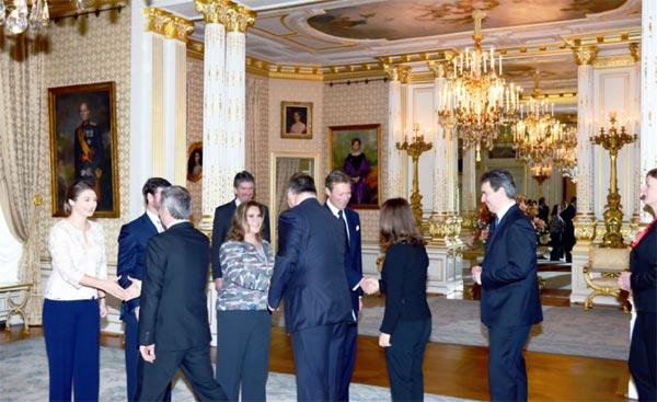 Primeras felicitaciones a los Grandes Duques de Luxemburgo tras darse a conocer que los príncipes Félix y Claire esperan su primer hijo