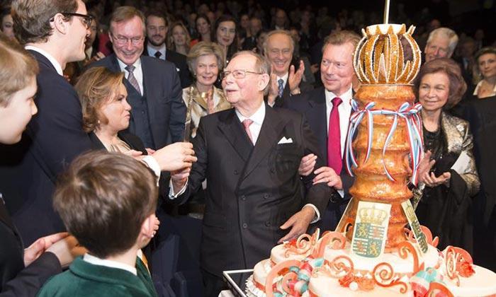 Las Casas Reales arropan a Juan de Luxemburgo en su 95º cumpleaños
