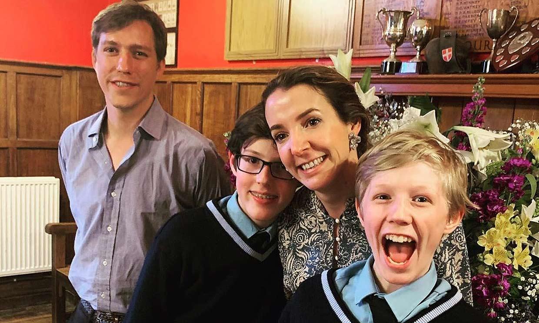 Luis y Tessy de Luxemburgo, dos ex bien avenidos: celebran juntos el cumpleaños de su hijo