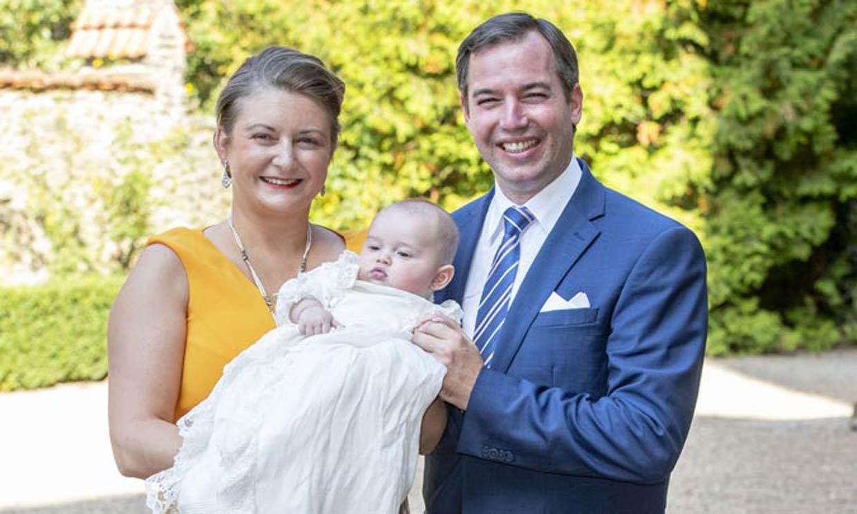 Así ha sido el bautizo de Charles, el primer hijo de Guillermo y Stephanie de Luxemburgo