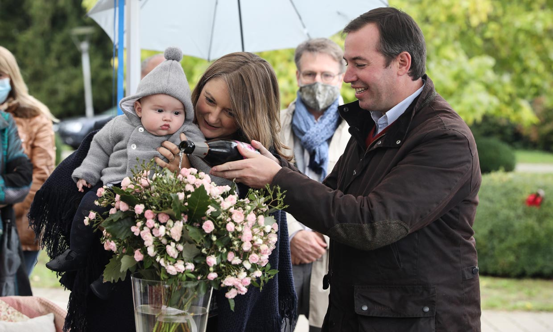 ¡Una rosa que lleva su nombre! La excursión (con homenaje incluido) de Charles de Luxemburgo