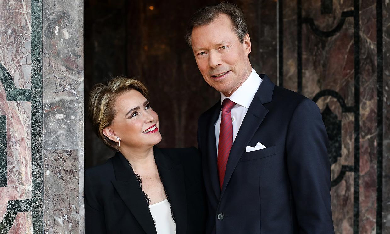 ¡Doble día del amor en Luxemburgo! Los Grandes Duques celebran 40 años casados con nuevas fotos oficiales