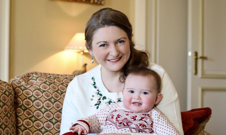La simpática sonrisa de Charles, protagonista del cumpleaños de su mamá, Stephanie de Luxemburgo