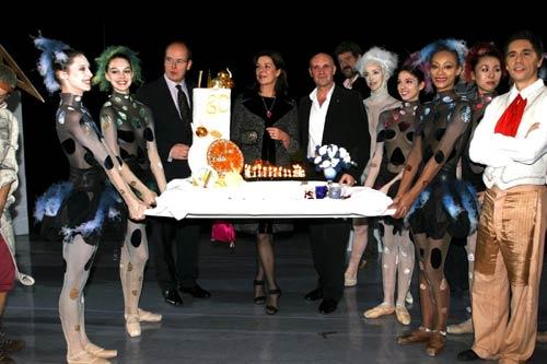 La princesa Carolina, radiante en el Ballet de Montecarlo