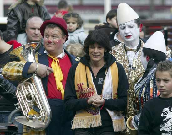 La princesa Estefanía, ovacionada en el Festival de Circo de Montecarlo