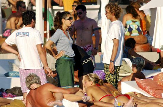 Andrea Casiraghi y Tatiana Santodomingo continúan sus vacaciones en Ibiza