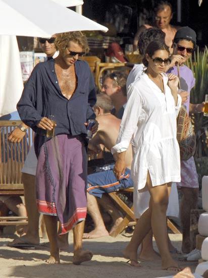 Andrea Casiraghi y Tatiana Santodomingo: enfado y reconciliación en Ibiza