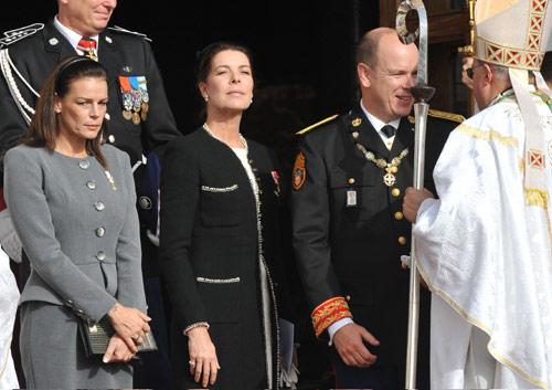 Los Grimaldi celebran el Día Nacional de Mónaco sin Ernesto de Hannover