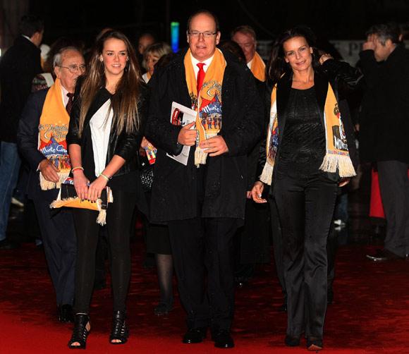 Paulina, hija de la princesa Estefanía, acapara todas las miradas en el Festival Internacional de Circo de Montecarlo