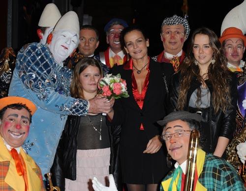 Estefanía de Mónaco y sus hijas viven de nuevo la magia del circo