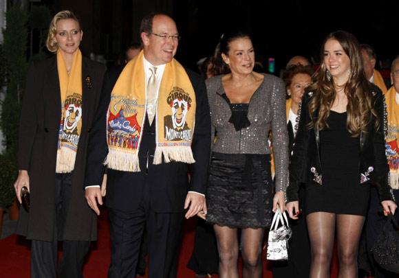 Charlene Wittstock reaparece junto a Alberto de Mónaco, en el Festival Internacional de Circo de Montecarlo