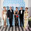 Carolina y Alberto de Mónaco presiden un Baile de la Rosa con marcado sabor marroquí