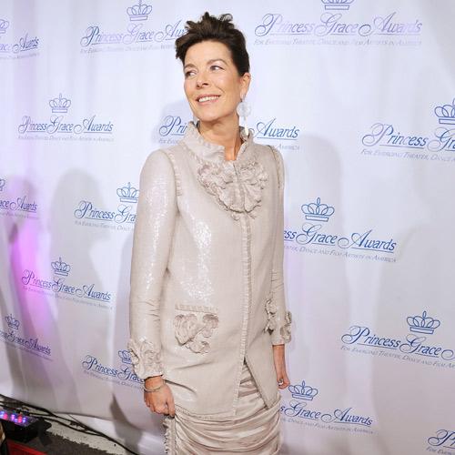 La princesa Carolina derrochó elegancia vestida de Chanel en la entrega de los premios que otorga la Fundación Princesa Gracia en Nueva York
