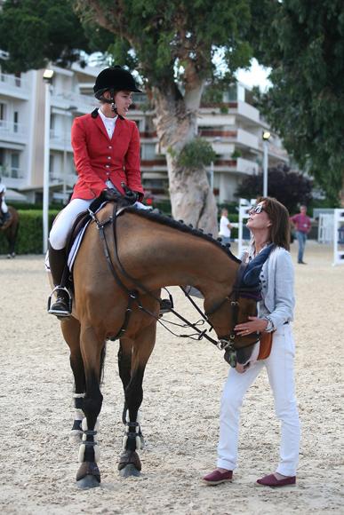 Carolina de Mónaco, el talismán de Carlota Casiraghi en el campeonato hípico de Cannes