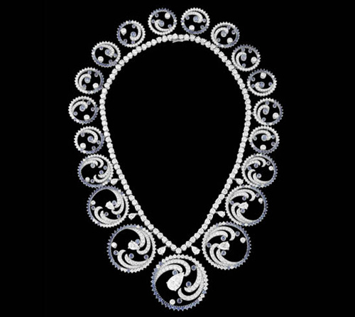 Tiara-Collar Océan de Van Cleef et Arpels