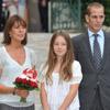 Carolina de Mónaco y sus hijos, Andrea y Alejandra, se van de 'picnic' en Mónaco