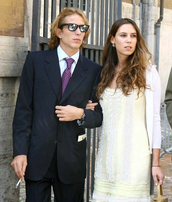 Apologise, Andrea casiraghi tatiana santo domingo consider