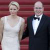 La princesa Charlene deslumbra en Berlín