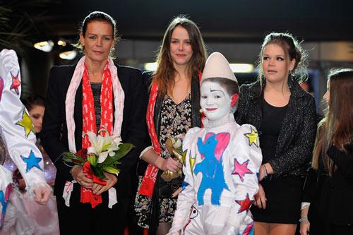 Los hijos de Estefanía de Mónaco invitan a su padre, Daniel Ducruet, al circo