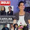 En ¡HOLA!: Carolina, las imágenes exclusivas tras conocer a su primer nieto