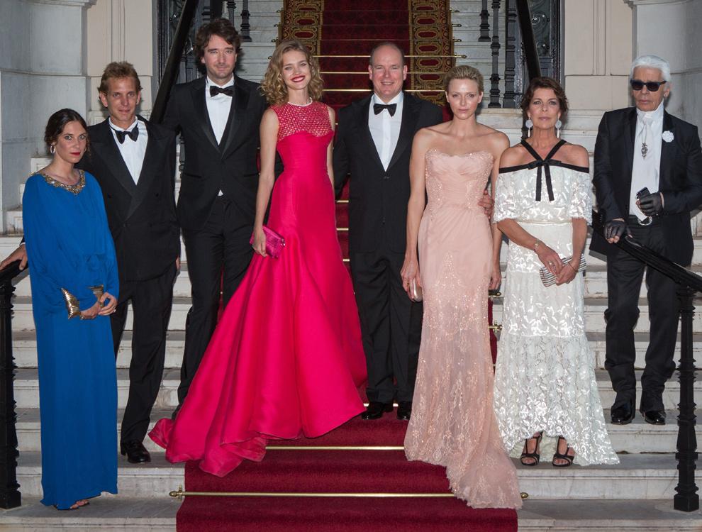 El 'Baile del Amor' de Mónaco, puro 'glamour' Grimaldi