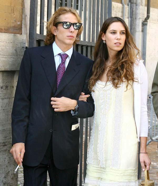La prensa francesa apunta que la boda civil de Andrea Casiraghi y Tatiana Santo Domingo será el 31 de agosto