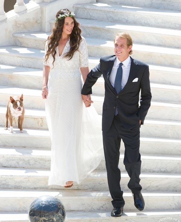 Tatiana Santo Domingo vestirá de Valentino en su boda religiosa