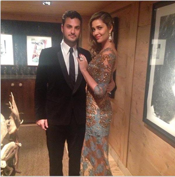 La boda blanca de Andrea Casiraghi y Tatiana Santo Domingo. G-barros--a