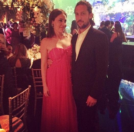 La boda blanca de Andrea Casiraghi y Tatiana Santo Domingo. Invitada4-a