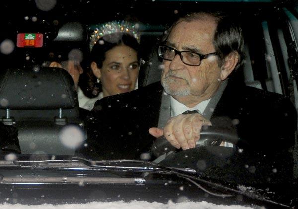 La boda blanca de Andrea Casiraghi y Tatiana Santo Domingo. Boda-novia-2-a