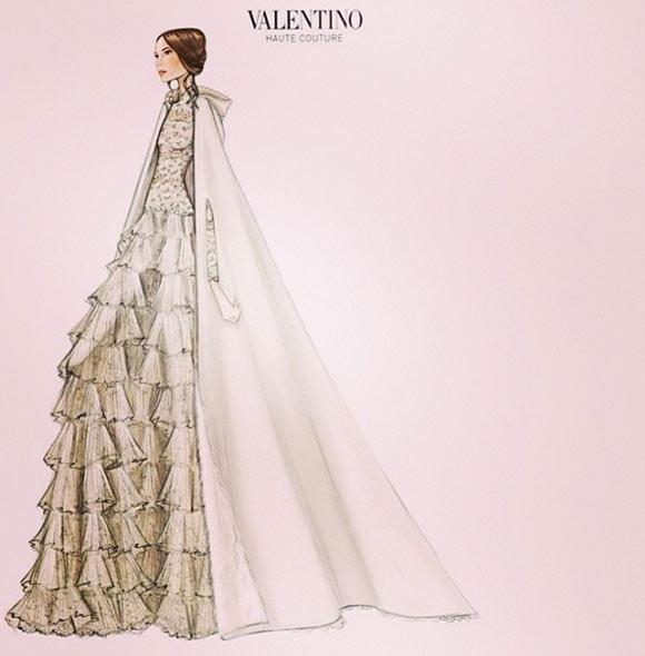 La boda blanca de Andrea Casiraghi y Tatiana Santo Domingo. - Página 2 Vestido--a